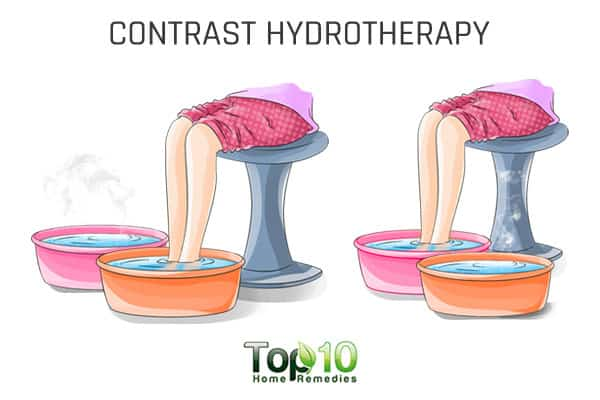 contrast hydrotherapy for big toe arthritis