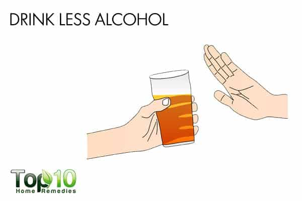 drink less alcohol to treat diabetic nerve pain