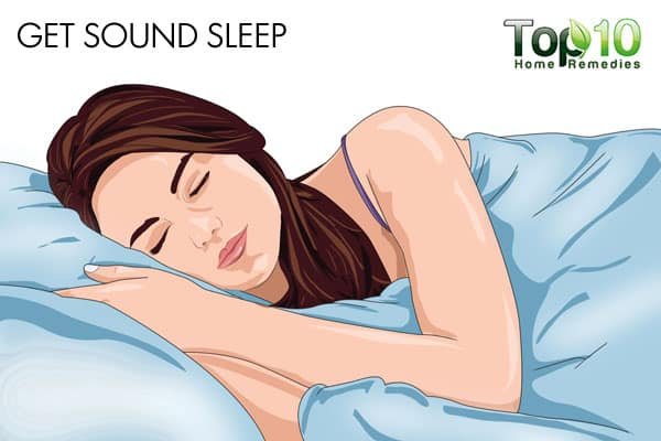 get sound sleep to improve memory