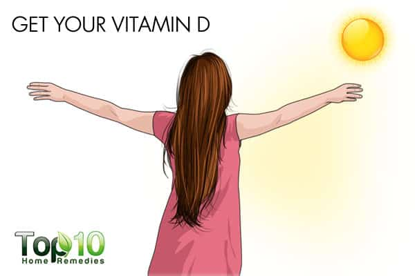 get vitamin D to improve memory