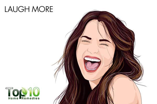 laugh more to improve memory