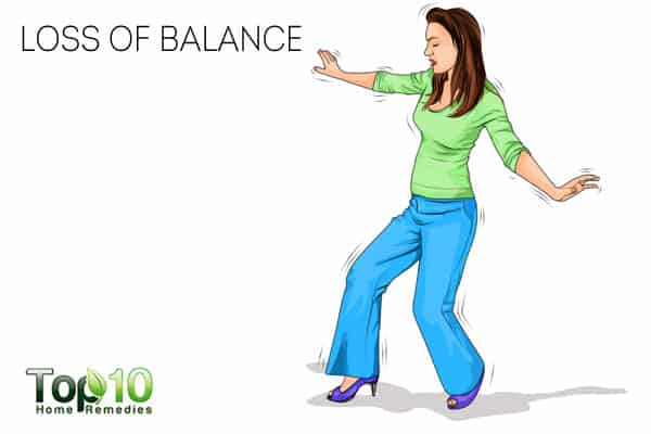 loss of balance can be a sign of nerve damage