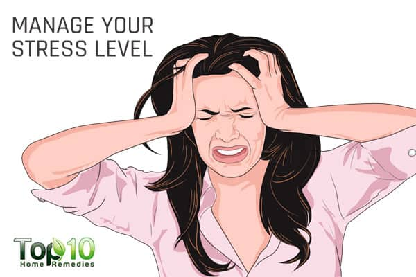 manage stress to beat tiredness and increase energy levels