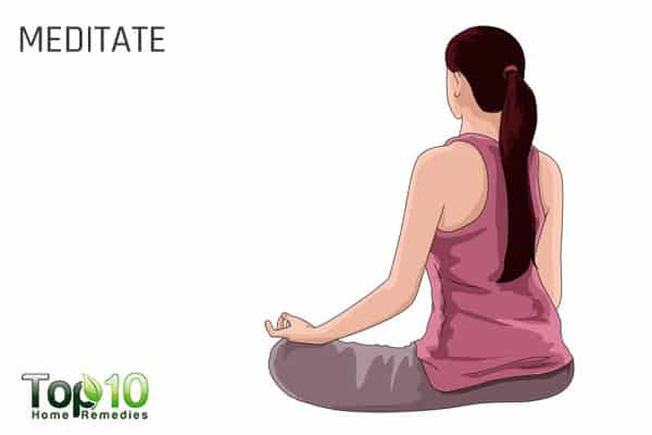 meditate to beat tiredness and increase energy levels