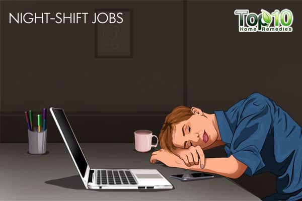 night-shift jobs may affect your sleep