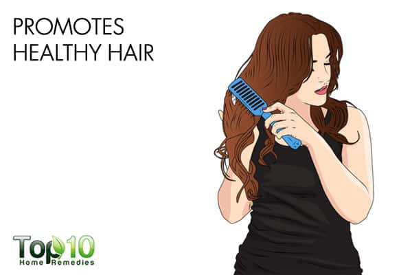 olive oil promotes healthy hair