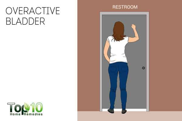 an overactive bladder can be a sign of nerve damage