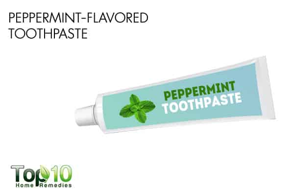peppermint-flavored toothpaste may affect your sleep