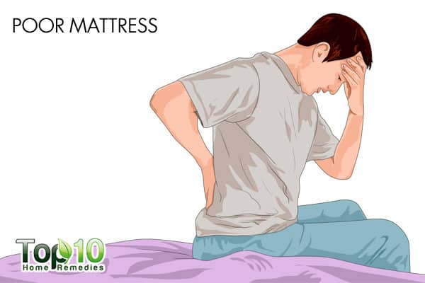 a poor mattress may affect sleep