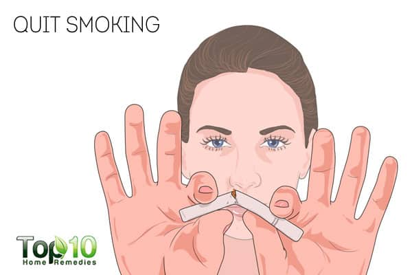 quit smoking for interstitial cystitis