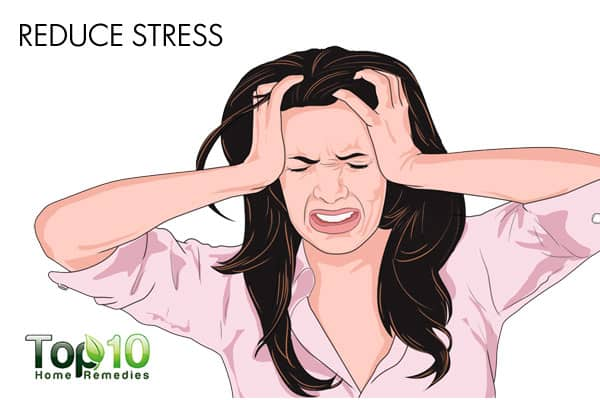 reduce stress to improve memory