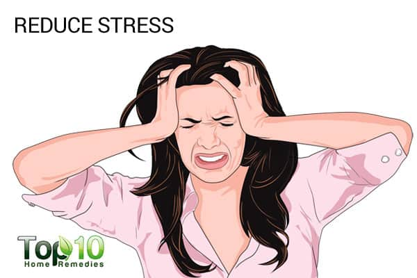 reduce stress to treat smile lines