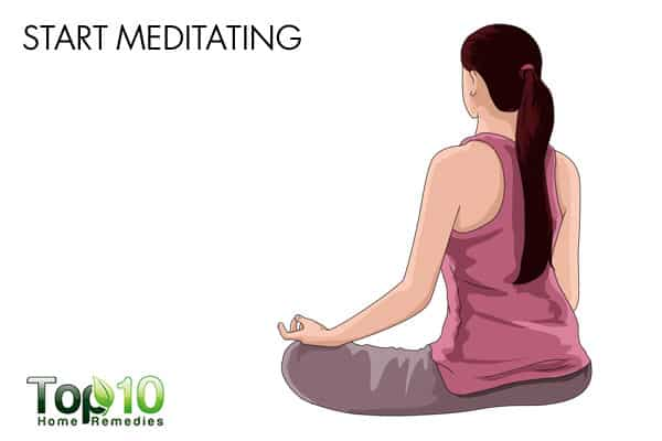 start meditating to improve memory