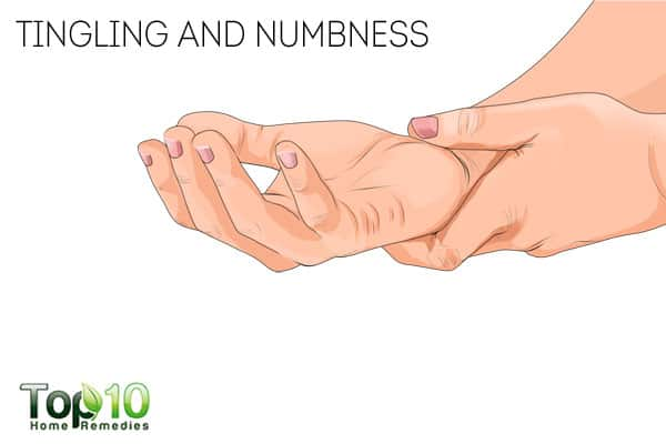 tingling and numbness-signs that you are not managing diabetes properly