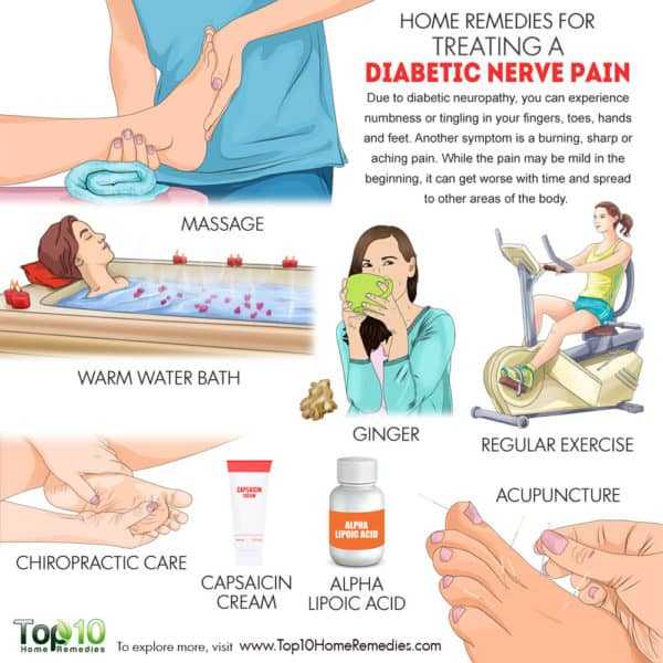 home remedies for diabetic nerve pain