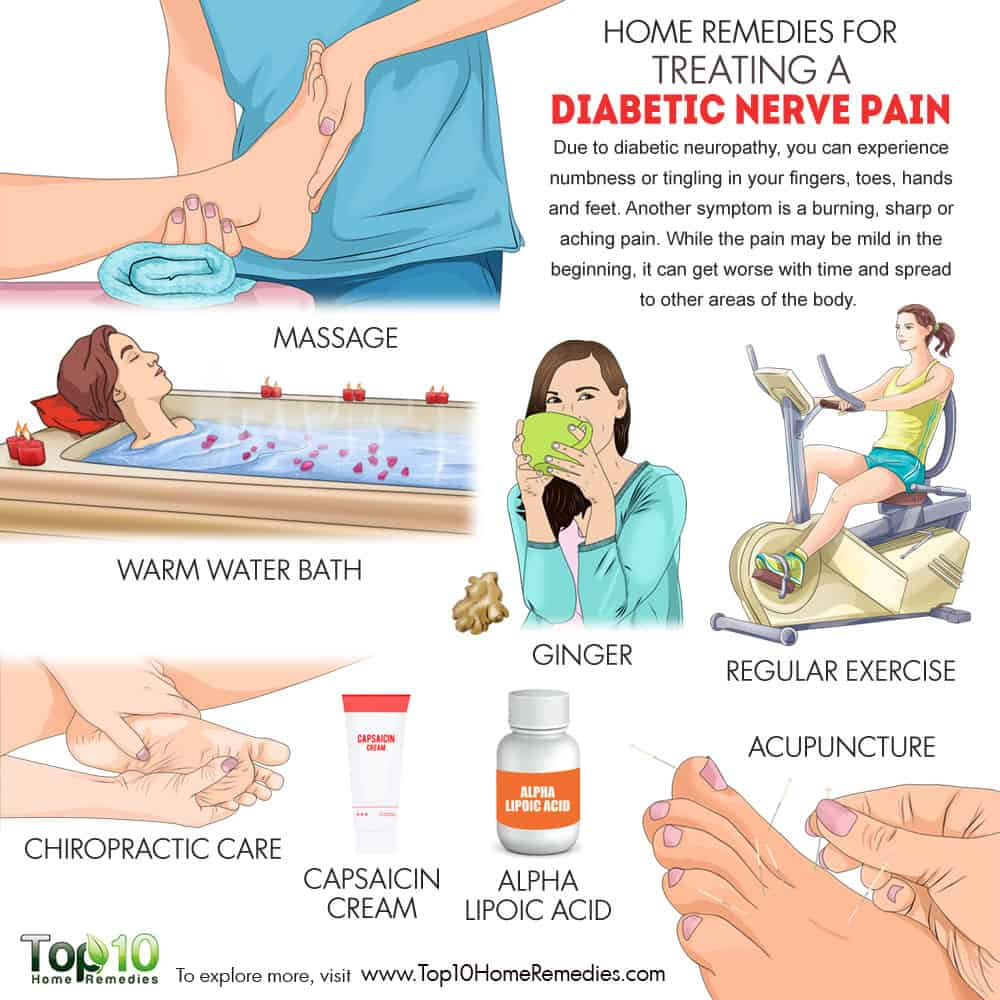 Home Remedies For Treating Diabetic Nerve Pain Top 10 Home Remedies