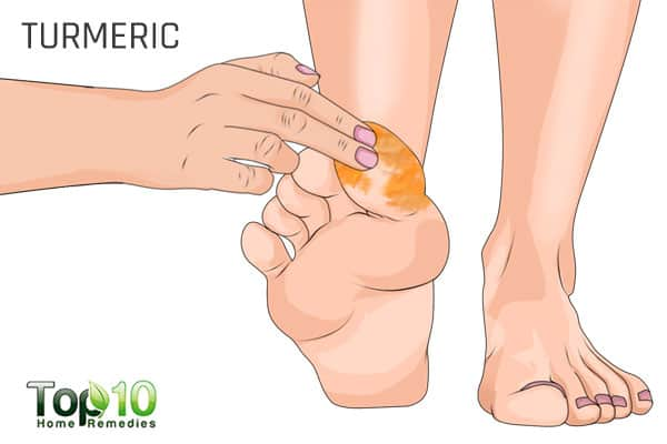 turmeric for big toe arthritis