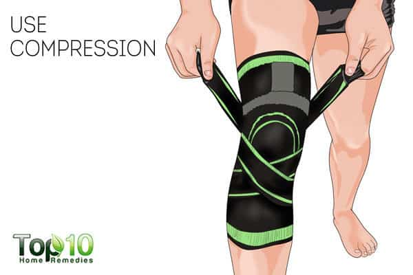 compression for chondromalacia patellae