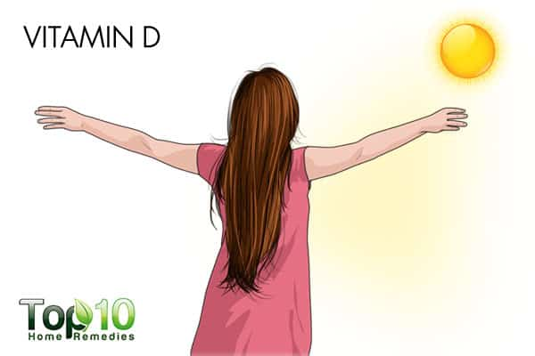 vitamin d to get rid of bumps on arms