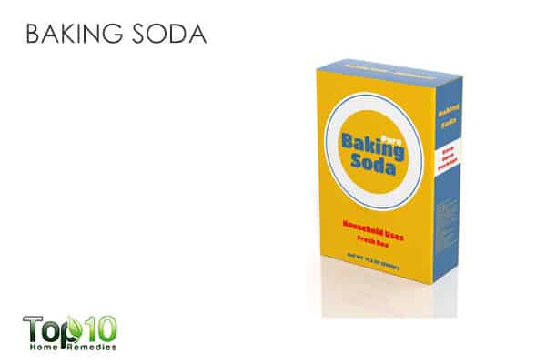 baking soda to get rid of shoulder acne