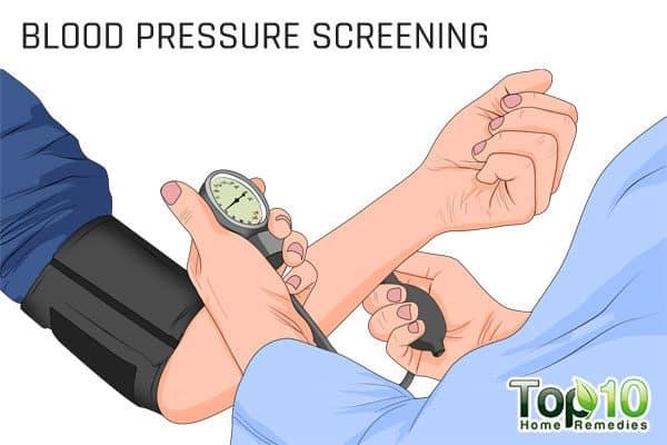 blood pressure screening for older adults
