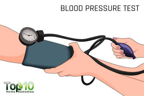 blood pressure test for men age 40