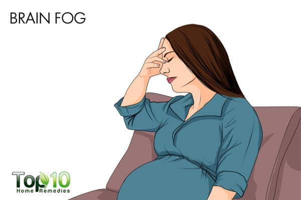 unpleasant brain fog during pregnancy