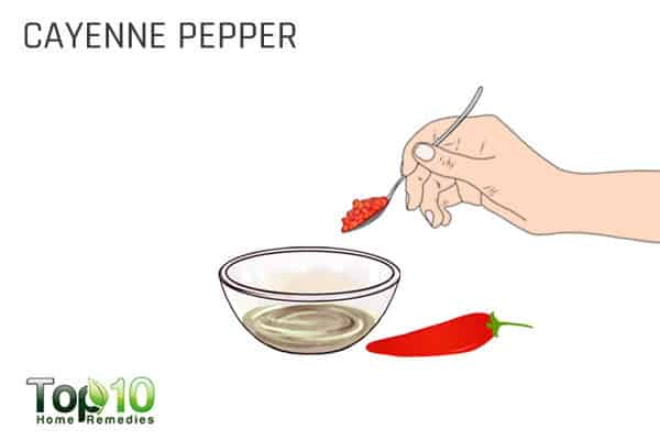 cayenne pepper for arm pain