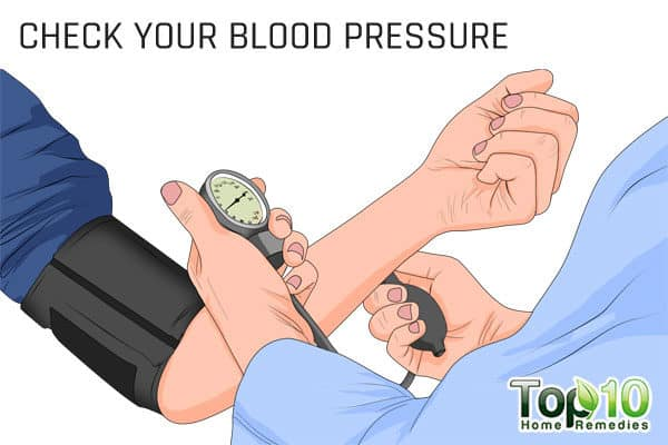 manage high blood pressure to control menopausal complications