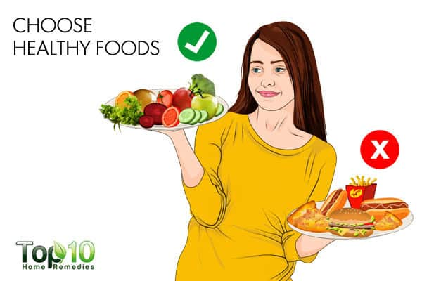 choose healthy foods when working night shifts