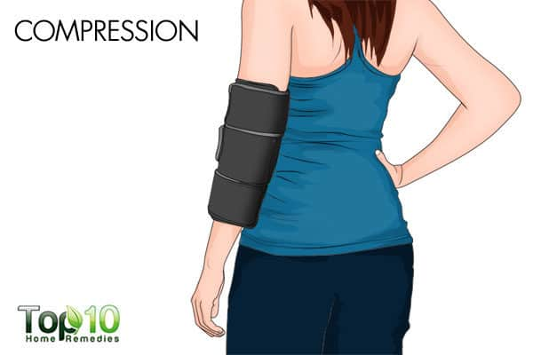 compression to relieve arm pain