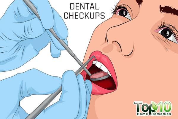 get dental checkup when older