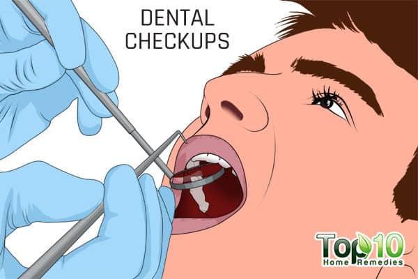 dental checkups important