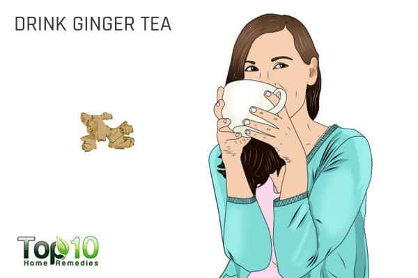 ginger tea reduces migraine headaches
