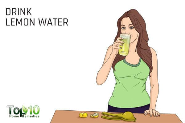 drink lemon water to treat constipation during pregnancy
