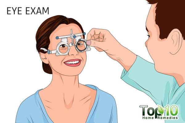 eye exam after age 40