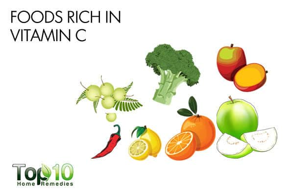 vitamin C rich foods for allergy relief