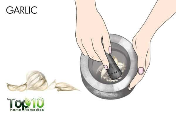 garlic treats allergies