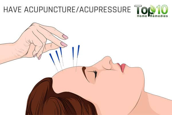 acupressure eases migraine headaches
