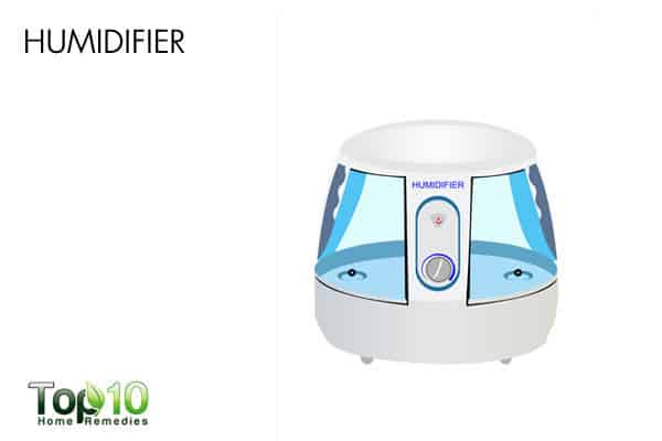 humidifier to treat pain when swallowing
