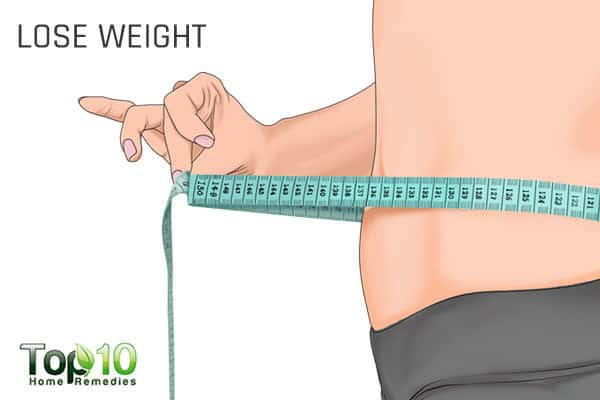 lose weight to avoid menopausal complications