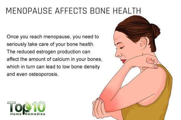 menopause affects bone health