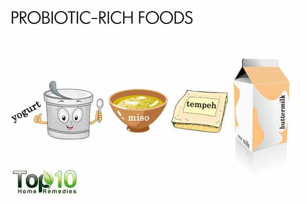 probiotic rich foods to treat allergies