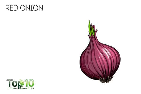 red onion for cold relief