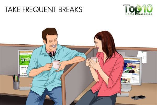 take frequent breaks when working night shift