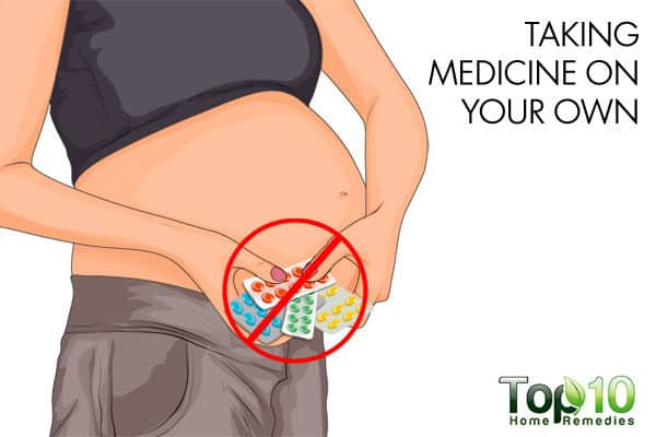 be cautious when taking medications