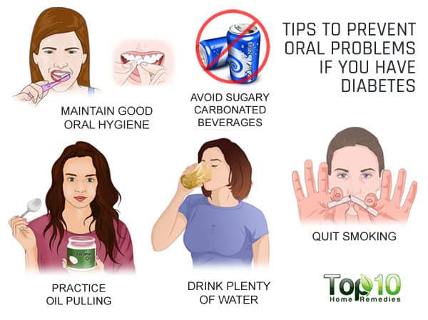 tips to prevent oral health problems in diabetics