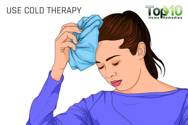 cold compress for migraine headache