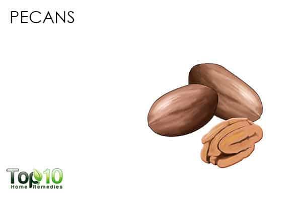 pecans antioxidant rich