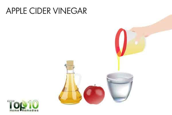 apple cider vinegar for skin candida